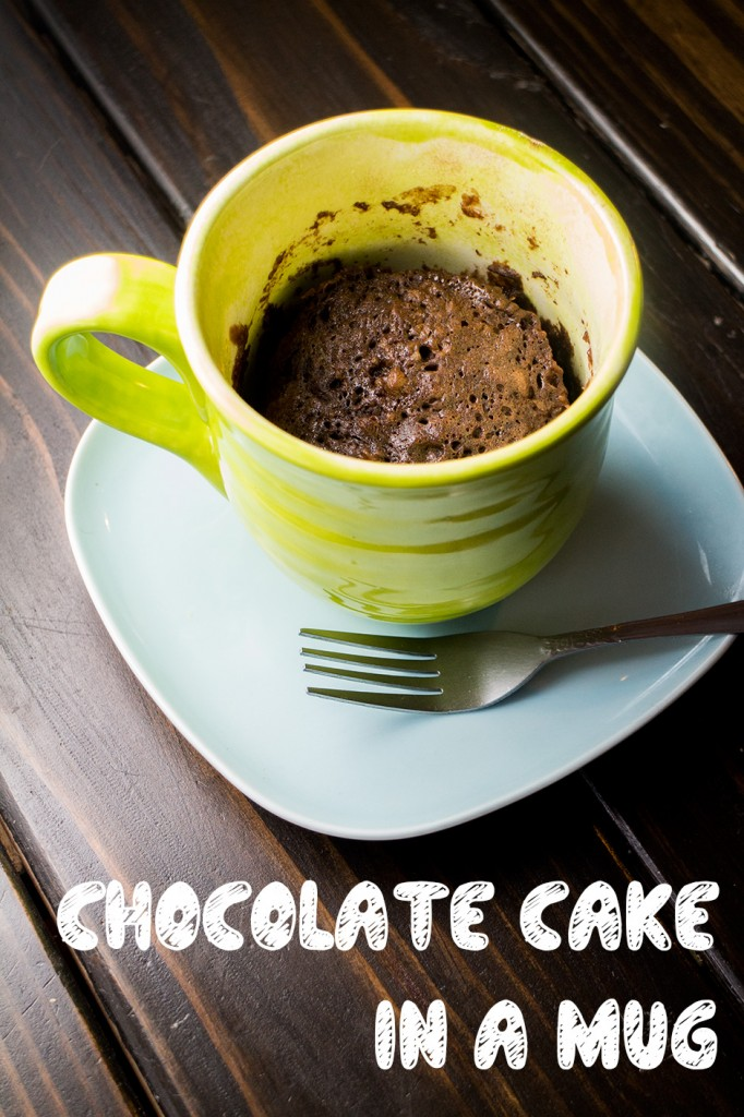 how to make mug cake in microwave