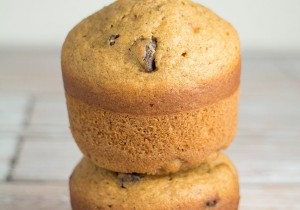 Pumpkin-Spice-Chocolate-Chip-Muffins