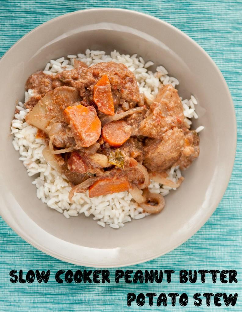Slow Juicer Peanut Butter : Slow Cooker Peanut Butter Potato Stew Brooklyn Farm Girl