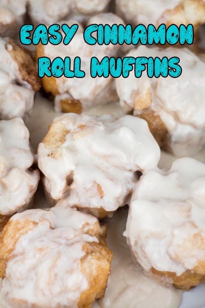 Easy Cinnamon Roll Muffins | Brooklyn Farm Girl